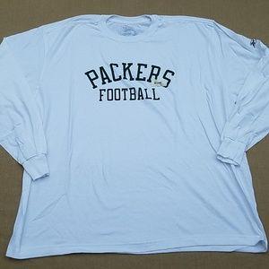 NWOT Green Bay Packers Reebok long sleeve tee